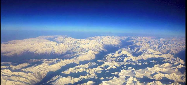 leh ladakh view from top