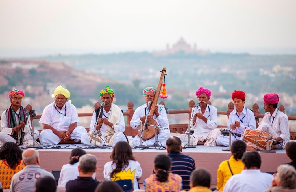 rajasthan internation folk festival