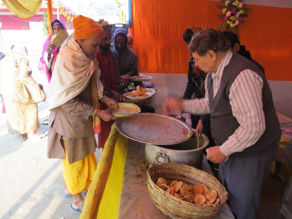 fooding in char dham yatra of india