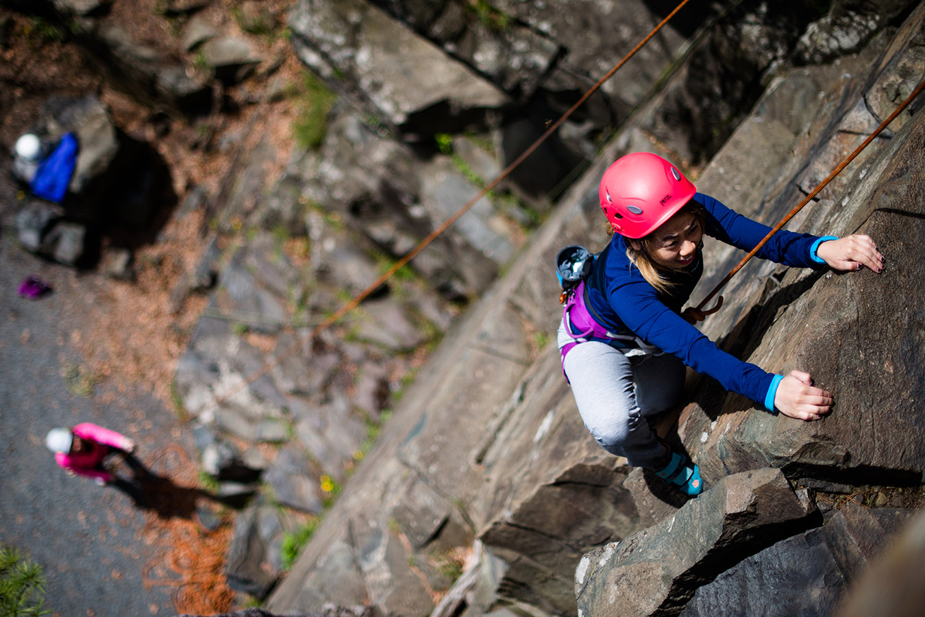 rock climbing to be experienced by american first timer traveller to india