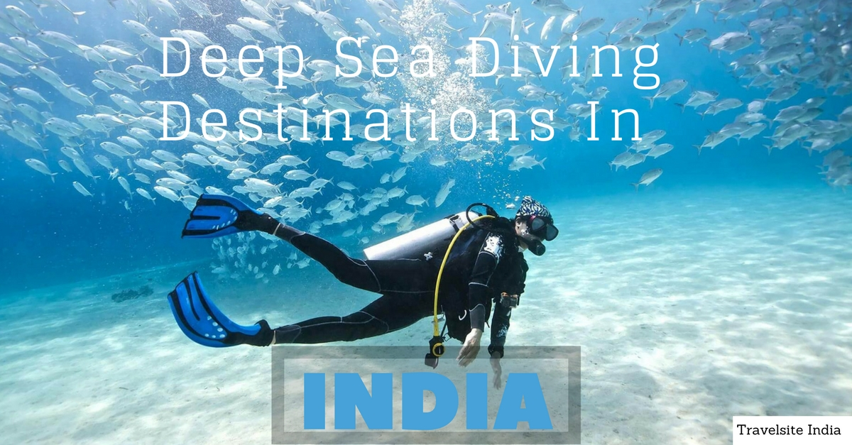 best deep sea diving destinations in india
