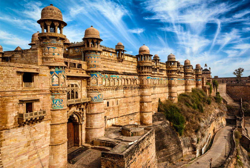 gwalior fort famous fort in india