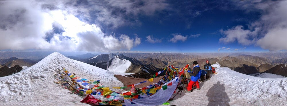 stok kangri trek best 6 trekking trails in india