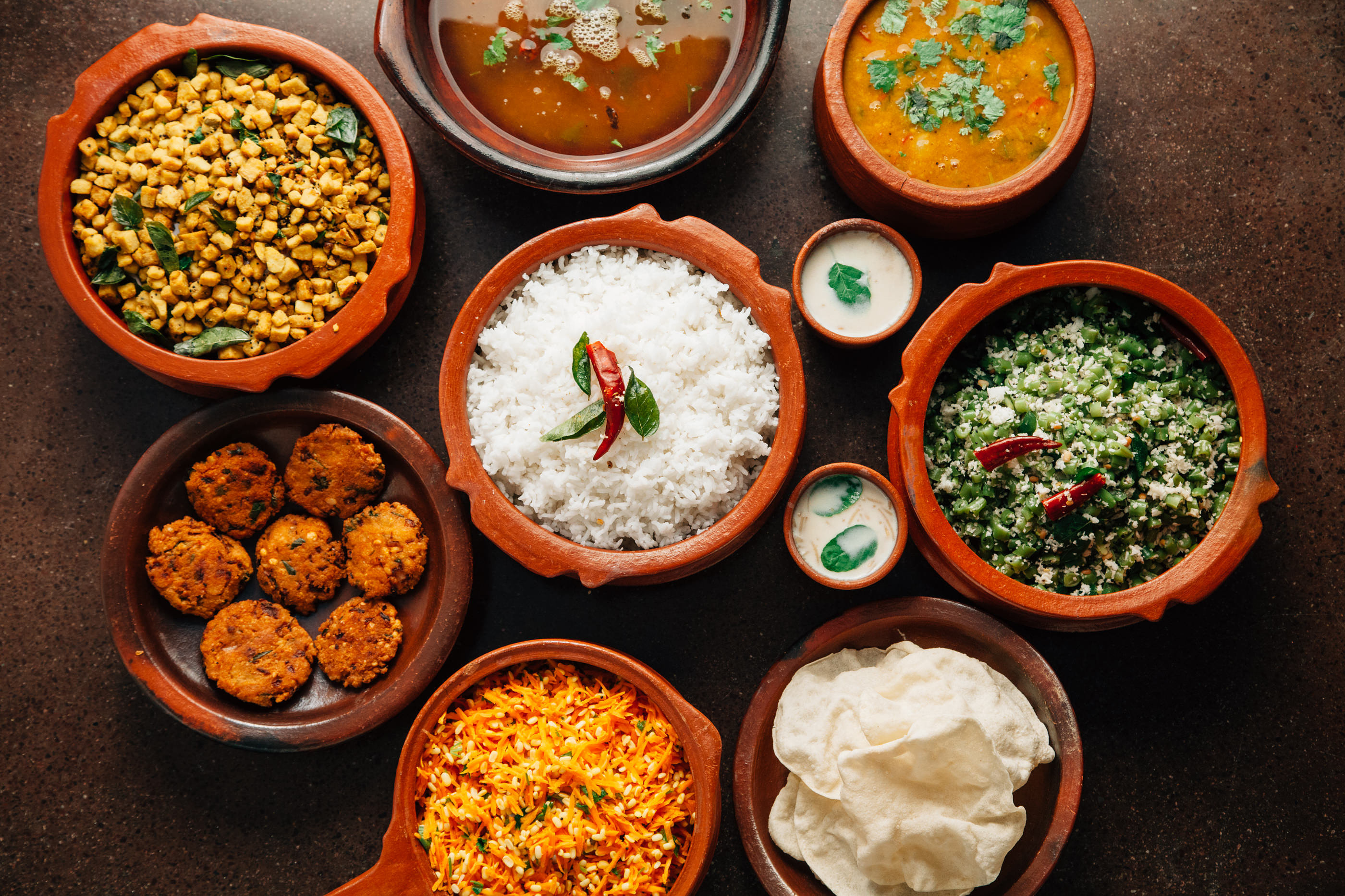 traditional indian food sessions