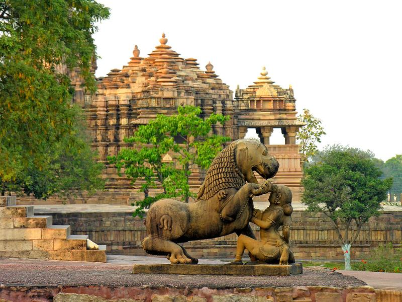 khajuraho group of temples famous hindu temple in india