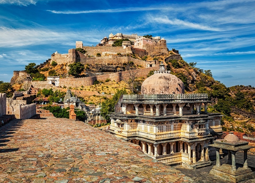 kumbhalgarh fort famous historical places in rajasthan