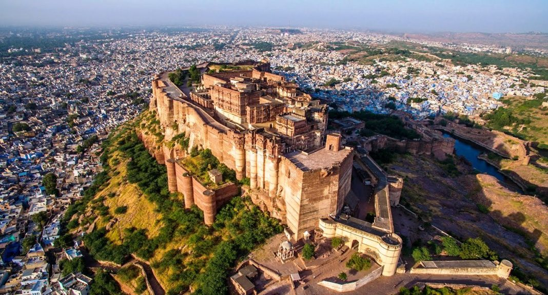 mehrangarh fort famous historical places in rajasthan