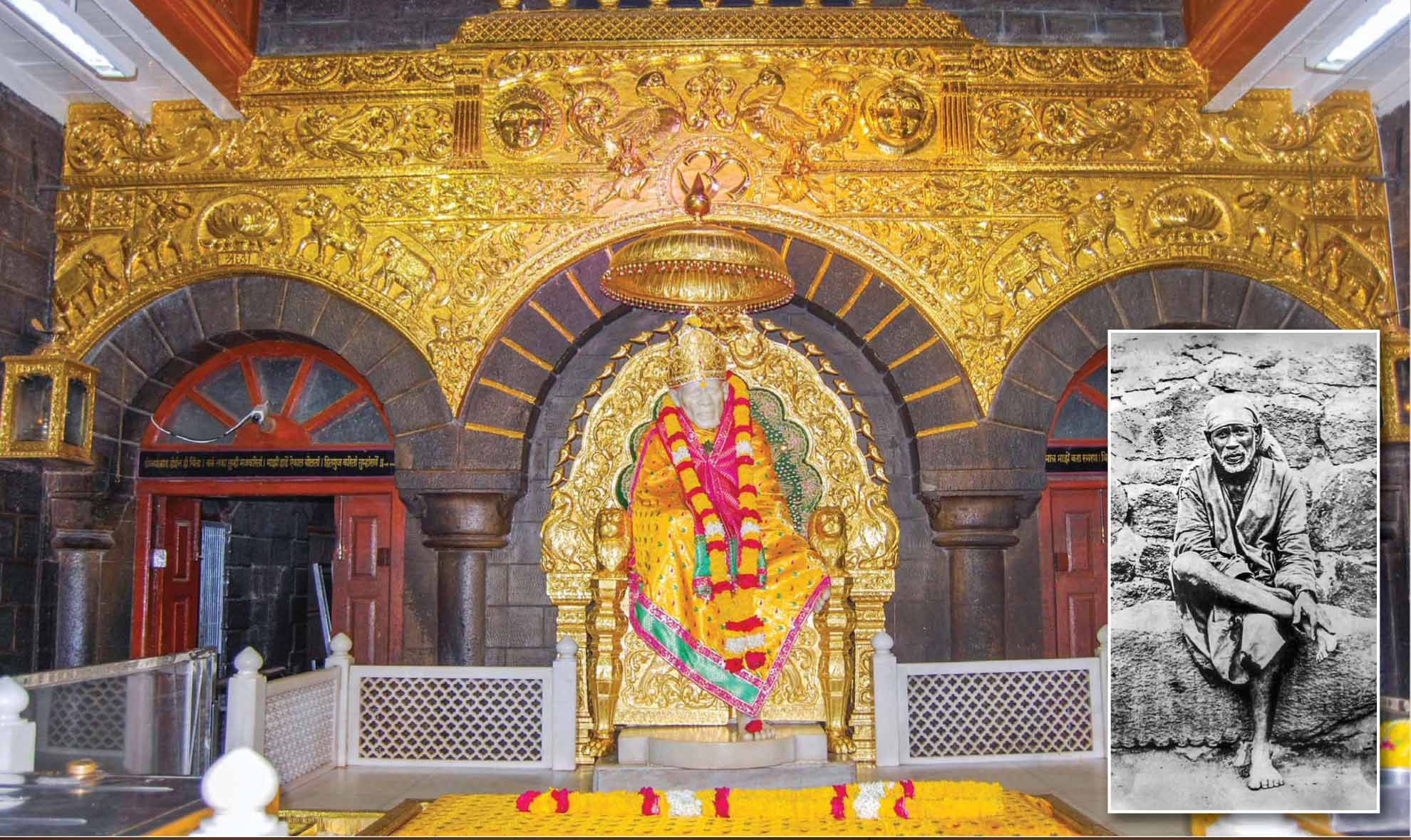 shirdi sai baba temple famous hindu temple in india