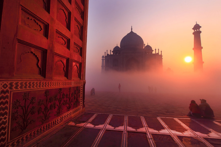 visit india in the month of january
