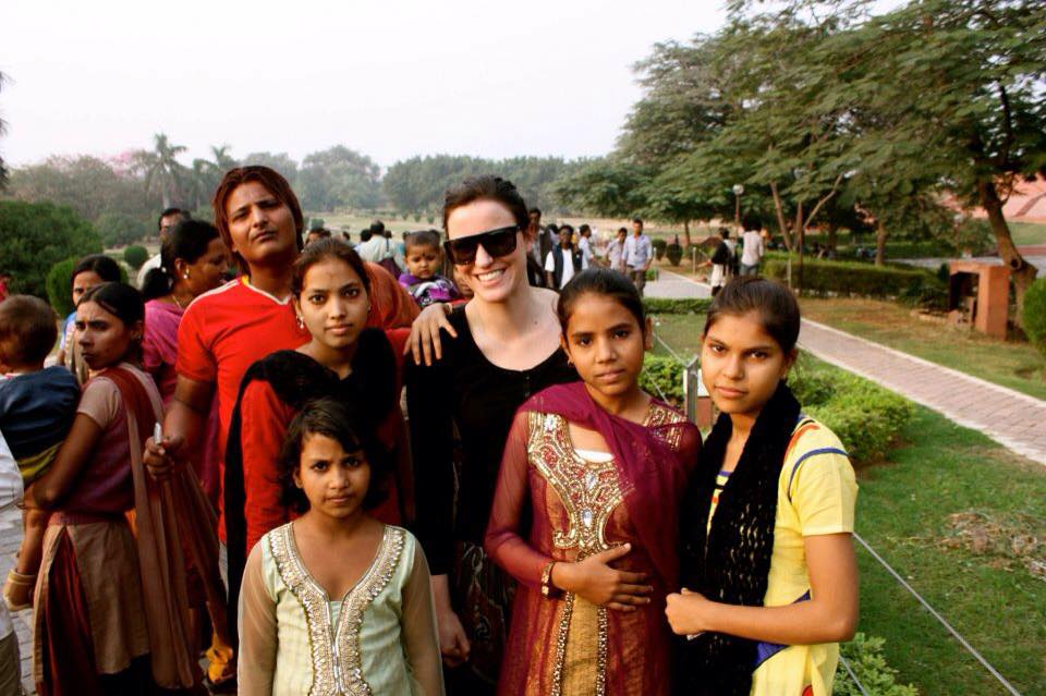 foreigners with local delhi people best time to visit delhi