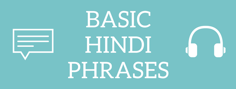 here is a list of some basic hindi sentences