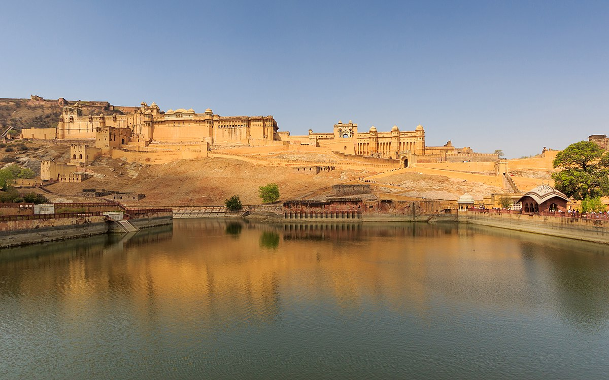 amber hill forts of jaipur rajasthan - world heritage sites in india