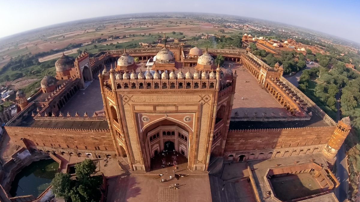 buland darwaza fatehpur sikri - world heritage sites in india