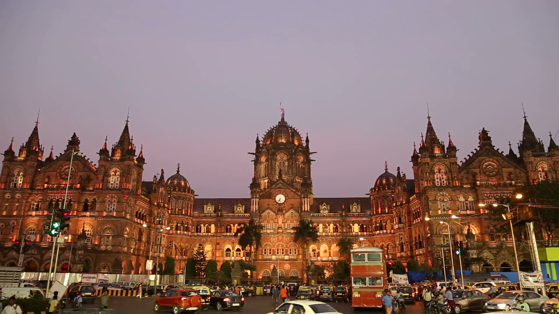 chhatrapati shivaji terminus train terminal - world heritage sites in india