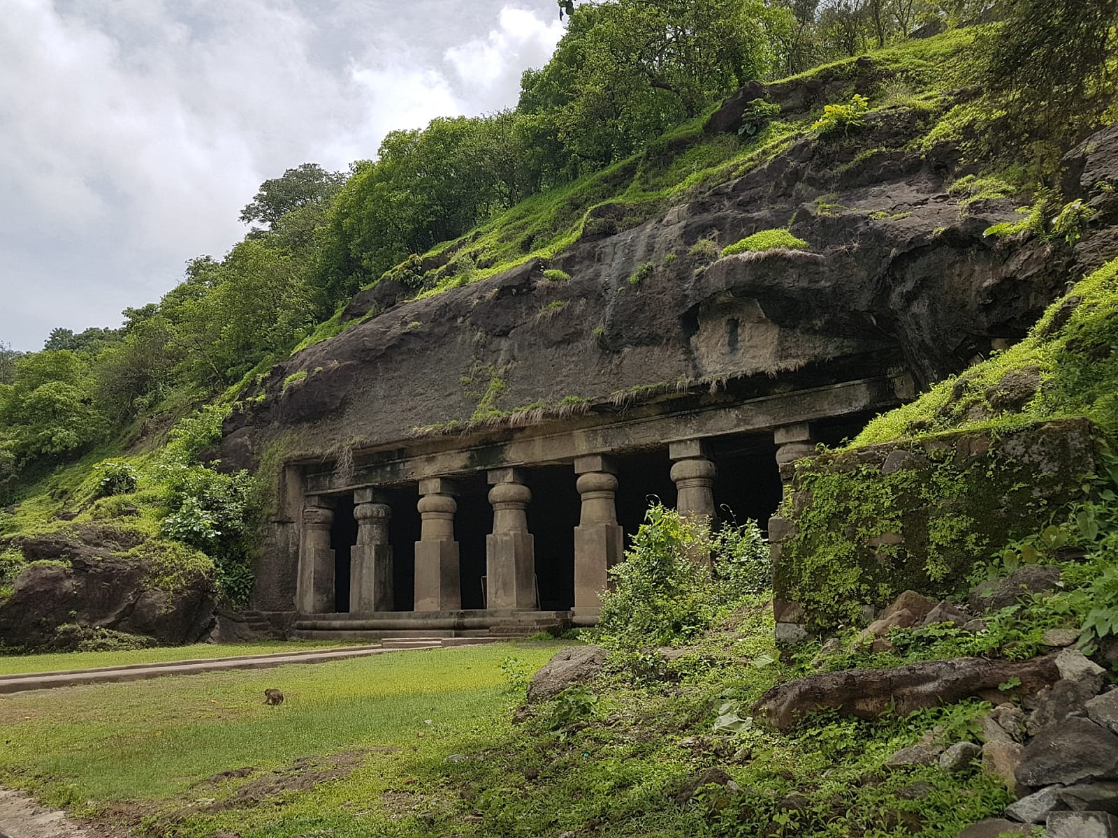 elephanta caves mumbai - world heritage sites in india