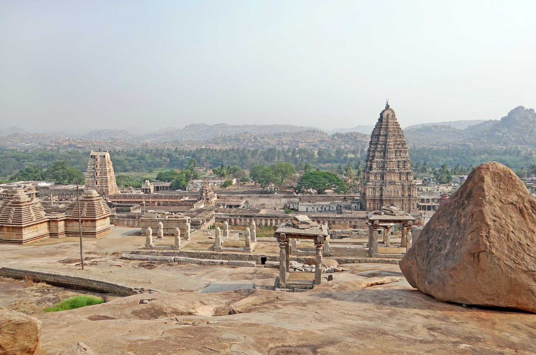 group of monuments at hampi - world heritage sites in india