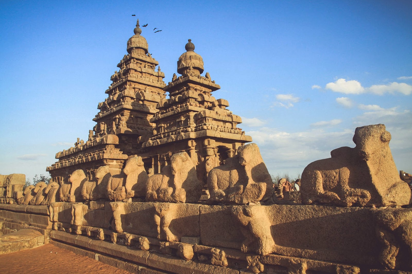 group of monuments at mahabalipuram - world heritage site in india