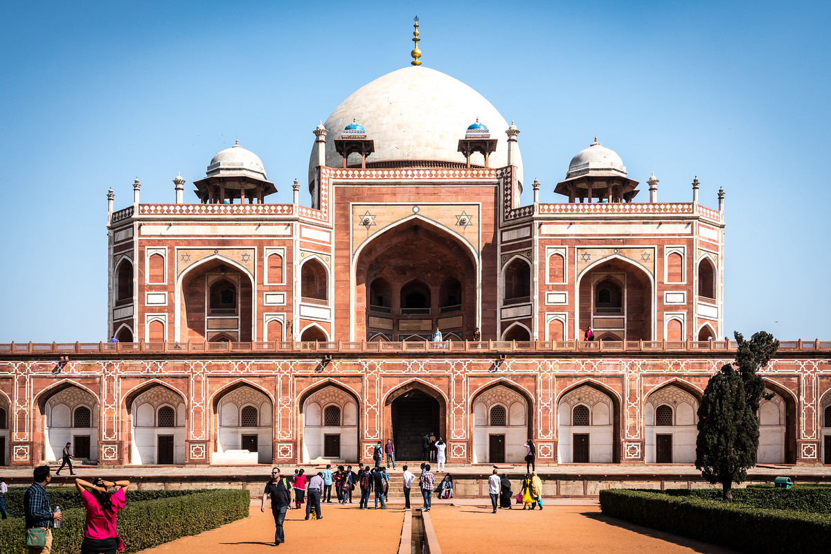 humayun tomb delhi - world heritage sites in india