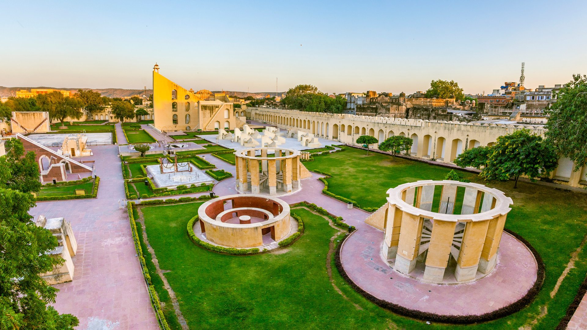 jamtar mantar jaipur - world heritage sites in india