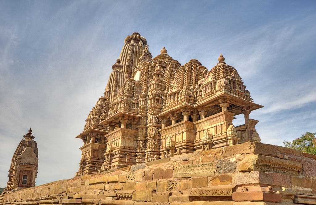 khajuraho group of monuments - world heritage sites in india