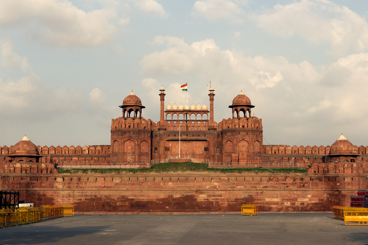 red fort complex - world heritage sites in india