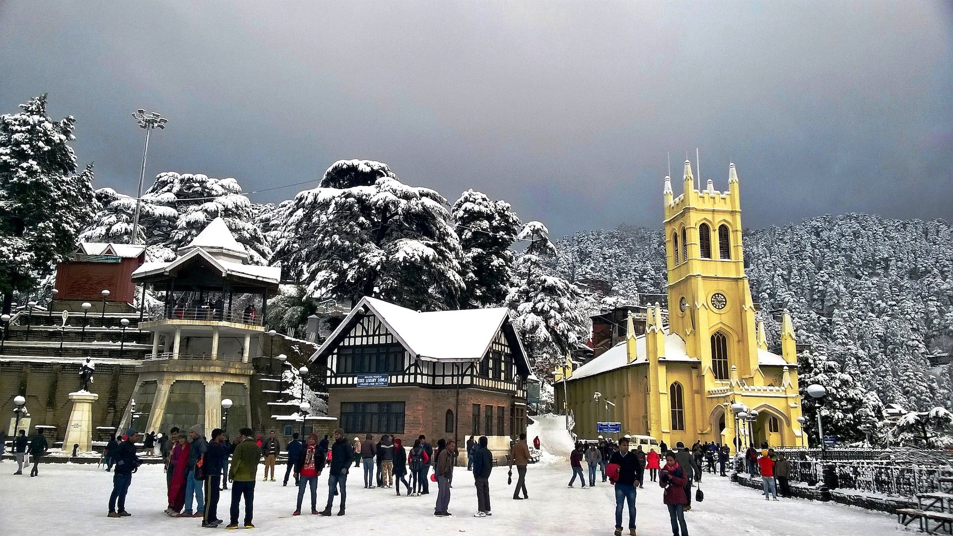 christ church shimla - place to visit for summer vacations in india with family