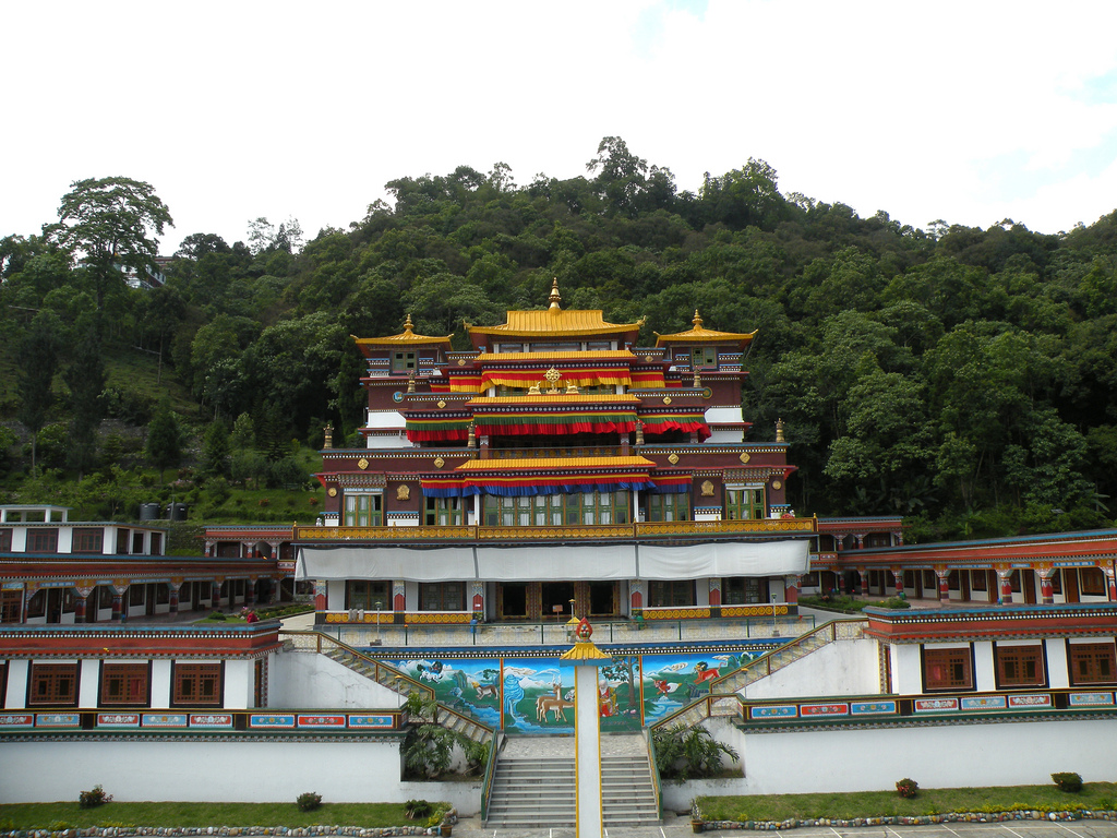 enchey monastery gangtok - place to visit for summer vacations in india with family