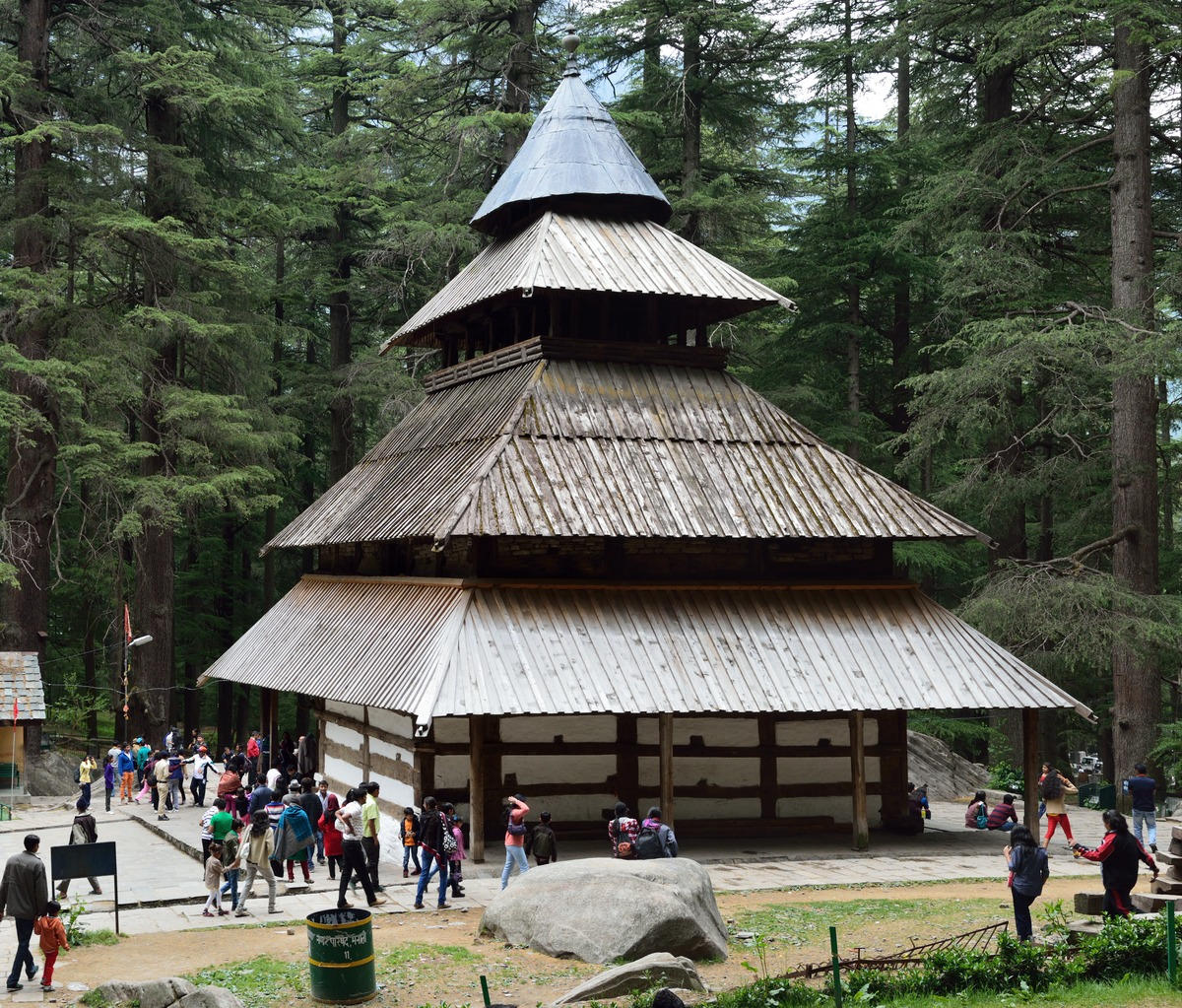 hadimba temple in manali - place to visit for summer vacations in india with family