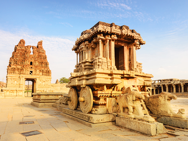 hampi temple - world heritage sites in india
