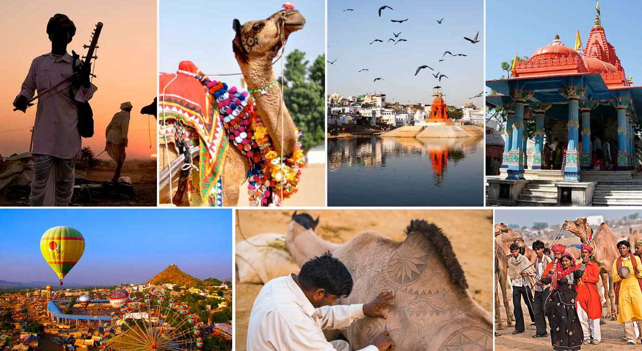 pushkar fair festival activities - desert cities in rajasthan