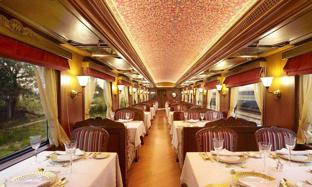 maharaja express lunch