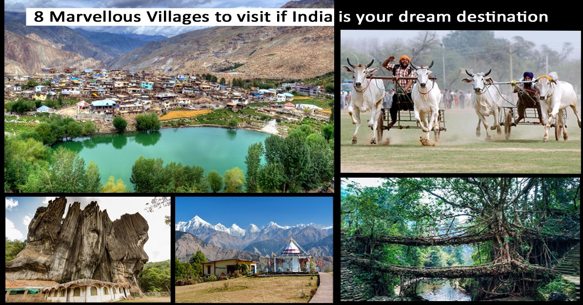 8 Marvellous villages to visit in India