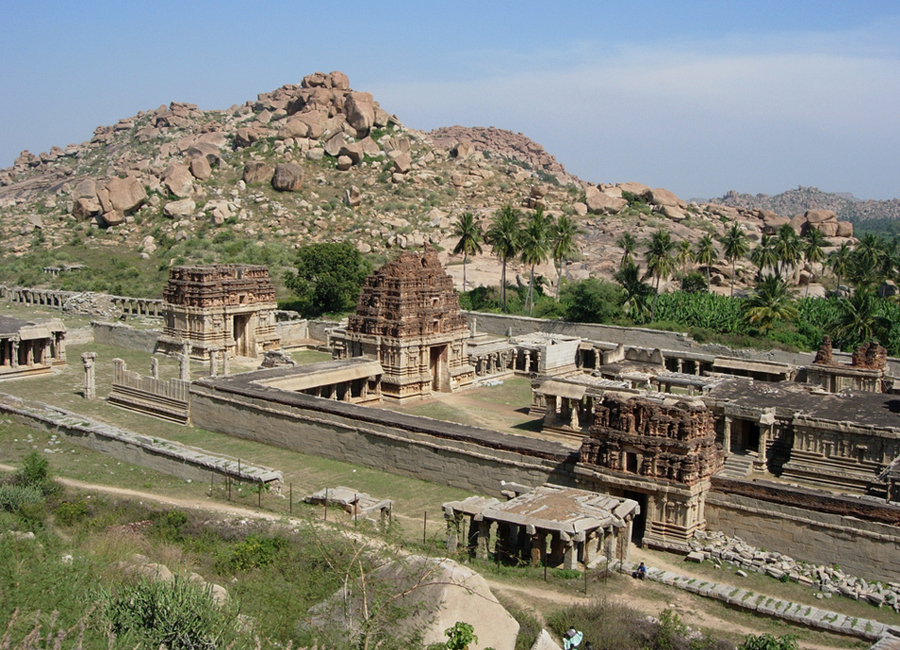 Achyutaraya_temple hampi by Travelsite india