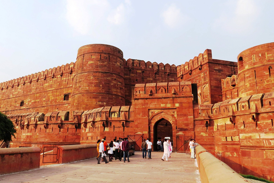 Agra Fort by Travelsite india