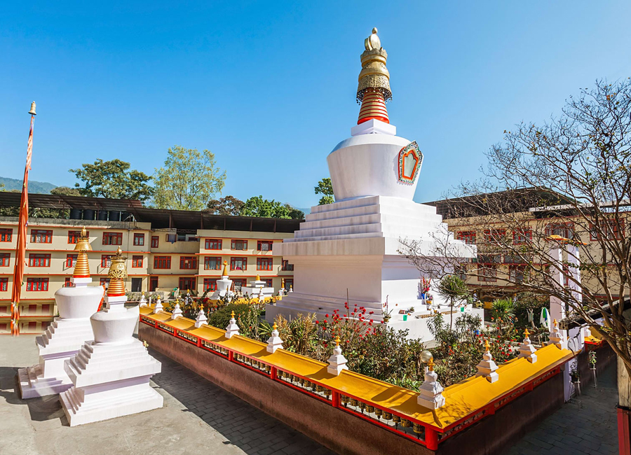 Dro-dul Chorten gantok by Travelsite India
