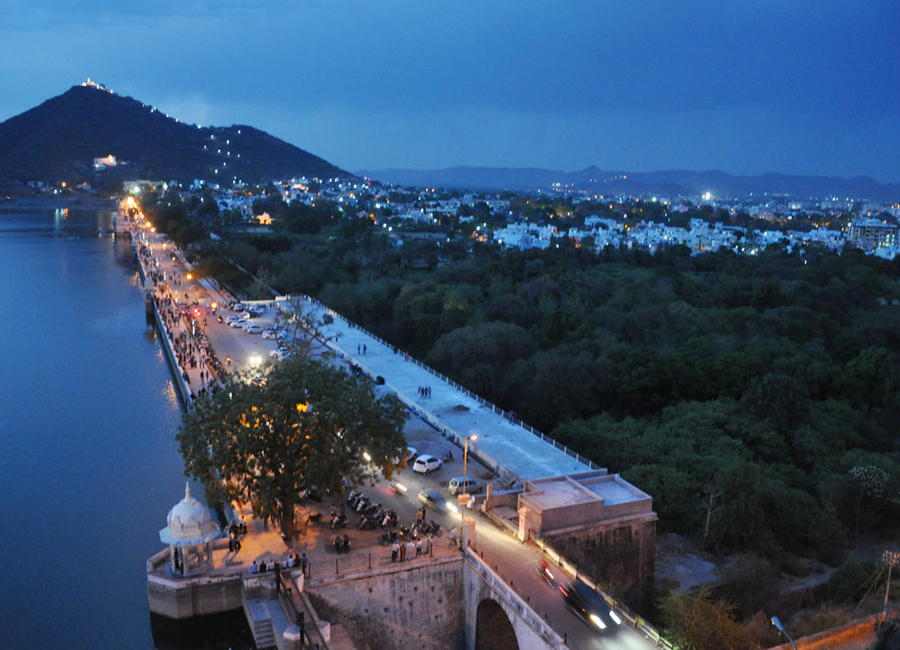 Fateh Sagar Lake udaipur by Travelsite India