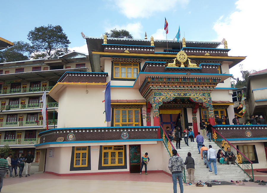 Gonjang Monastery gantok by Travelsite India