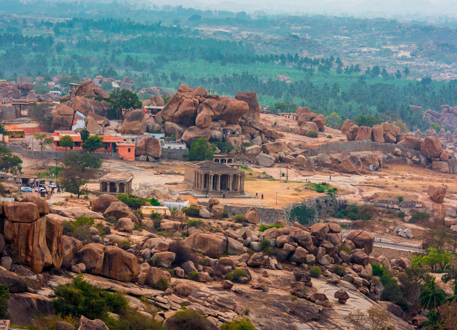 Matanga Hill in Hampi by Travelsite India