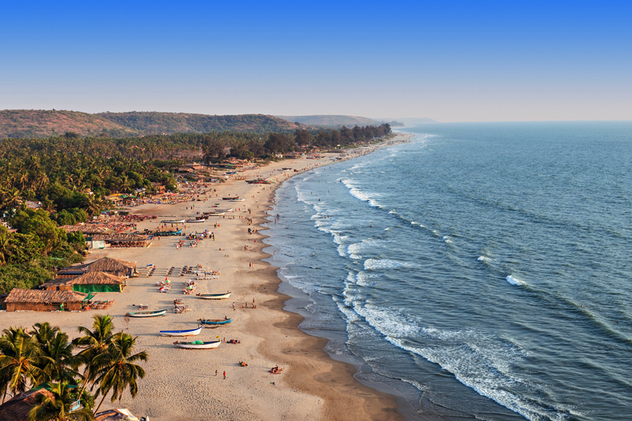 Palolem Beach goa by Travelsite India