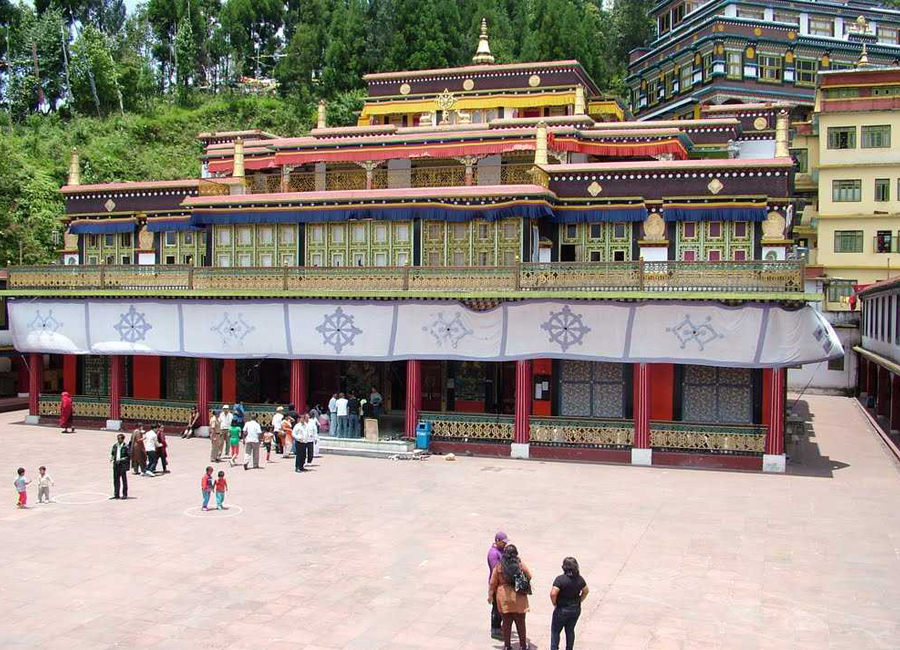 Rumtek Monastery gantok by Travelsite India