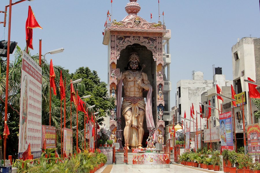 Sankat Mochan Hanuman Temple by travelsite india