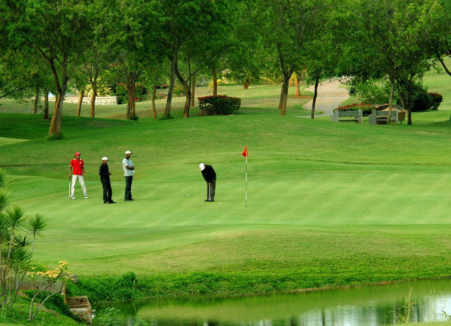Shillong Golf Course by Travelsite India