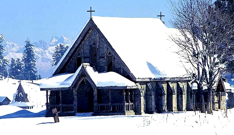 St-Mary-Church-Gulmarg by Travelsite India
