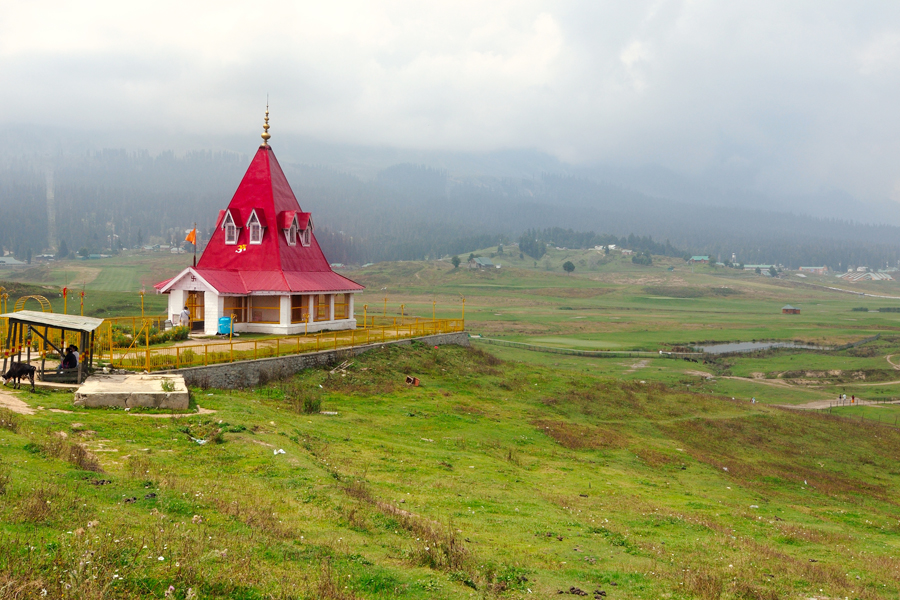 The_Ancient_Maharani_Temple Gulmarg by Travelsite India