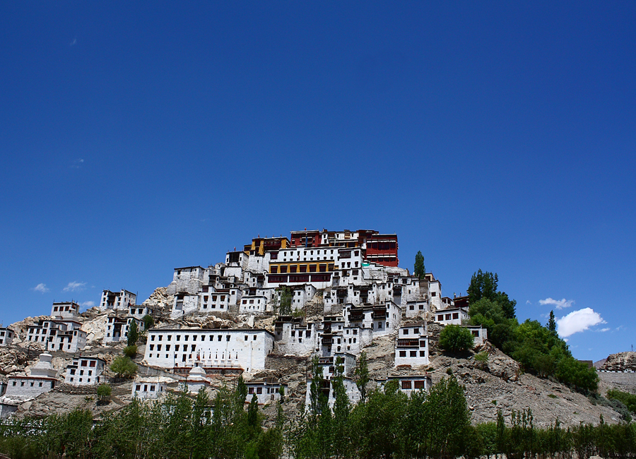 Thikse_Monastery_leh by Travelsite India