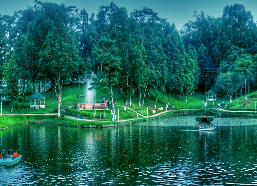 Wards Lake shilong by Travelsite India