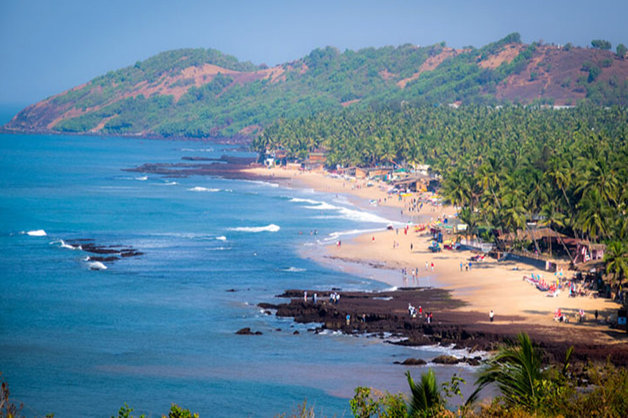 anjuna beach by travelsite india