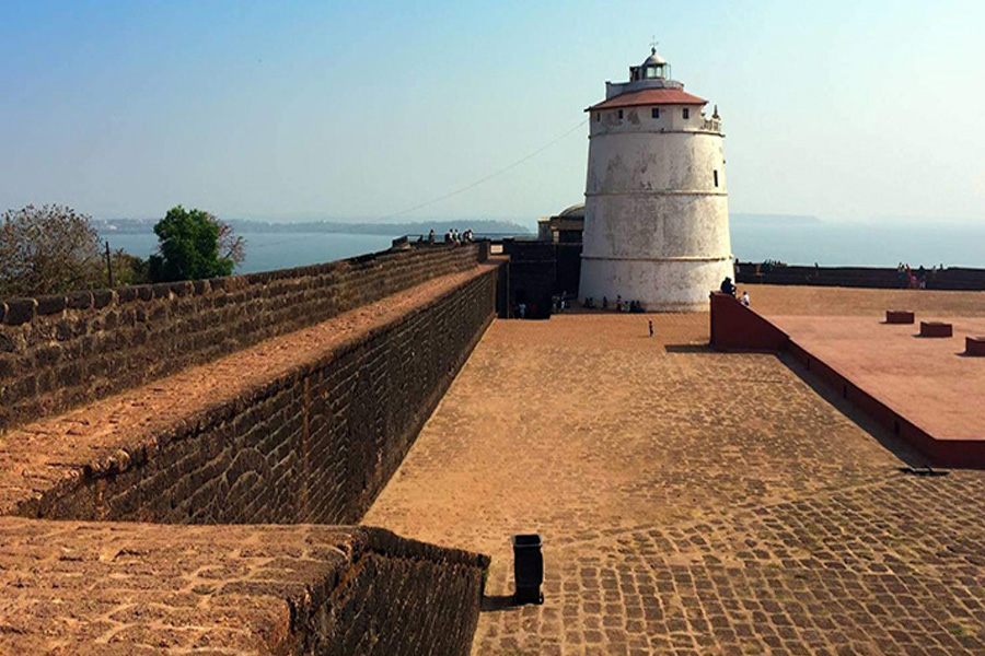 fort aguada goa by travelsite india