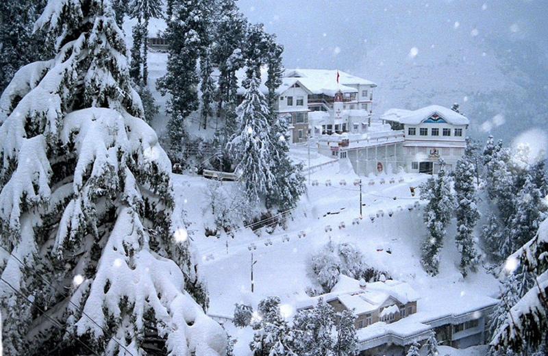 Almora in Winter by Travelsite india