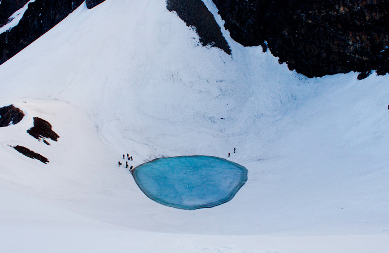 Glacial Lake of Roopkund